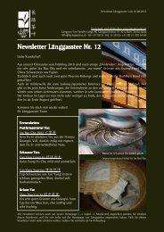Newsletter Nr. 12 vom 10. August 2010 - Länggass-Tee