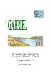 Bulletin-1-10 - Briefmarkengilde St. Gabriel Schweiz
