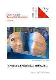 Ausgabe 2/2010 (Juni) - Gymnasium Weingarten