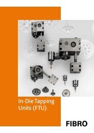 In-Die Tapping Units (FTU) - Fibro GmbH