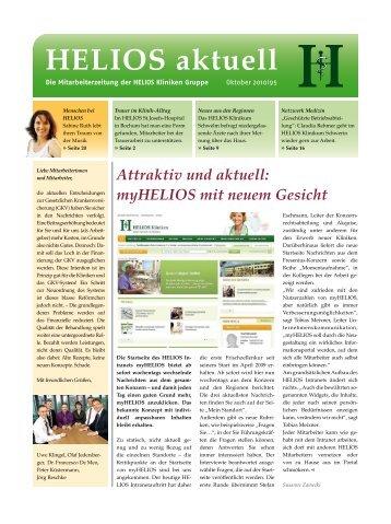 myHELIOS mit neuem Gesicht - HELIOS Kliniken GmbH