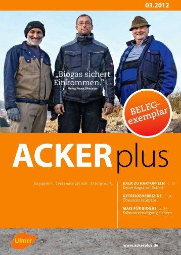 2 Monate gratis testen! - AGRO Schuth GmbH - Prospektpflege