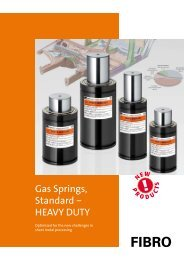 Flyer - Gasdruckfeder