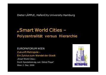 Präsentation Dieter Läpple (4,3 MB, pdf) - Zukunft Metropole
