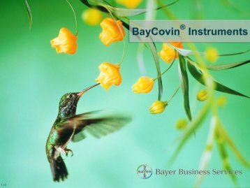BayCovin® Instruments - Agilent Technologies