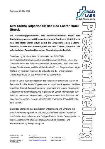 Pressemitteilung - Gemeinde Bad Laer