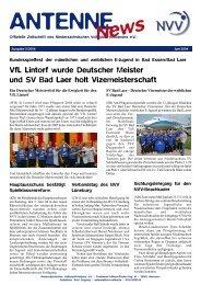 VfL Lintorf wurde Deutscher Meister und SV Bad Laer holt ... - NVV