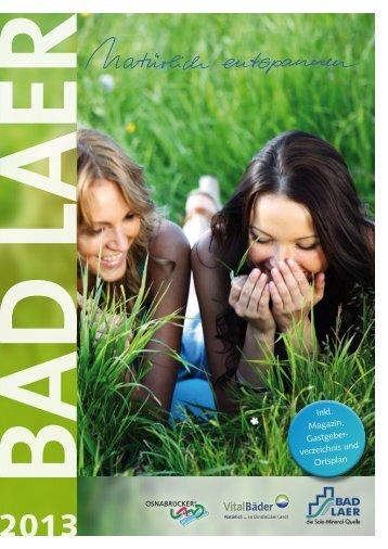 Imagemagazin 2013 - Gemeinde Bad Laer