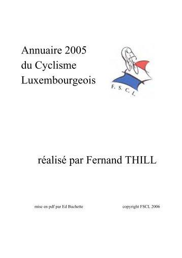 ANNUAIRE 2005 - web ctrl