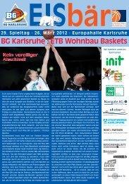 BG Karlsruhe : ETB Wohnbau Baskets