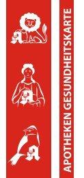 Kundenkarten Flyer - Apotheken in Kreuztal