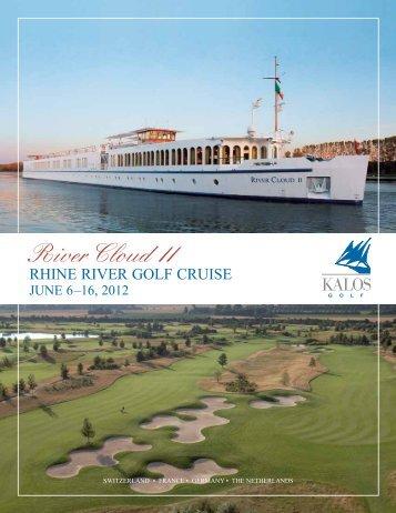 Rhine RiveR golf CRuise - Kalos Golf