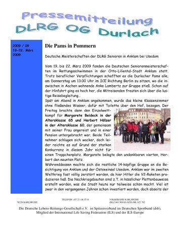 2009 09 - DLRG Ortsgruppe Durlach