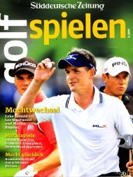 :rt T, - Leading Golf Courses of Germany
