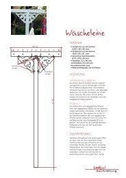 Wäscheleine - Landlust