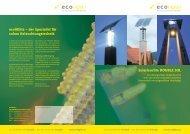 Download Produktfolder .pdf 2464 KB - EcoliGhts Solare ...