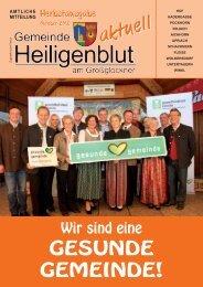 aktuell - Gemeinde Heiligenblut am Großglockner
