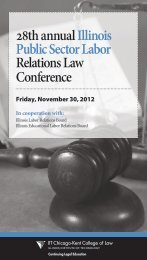 28th annual Illinois Public Sector Labor Relations Law Conference