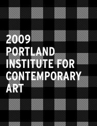 Untitled - Portland Institute for Contemporary Art