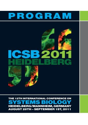 Program Booklet - the ICSB 2011