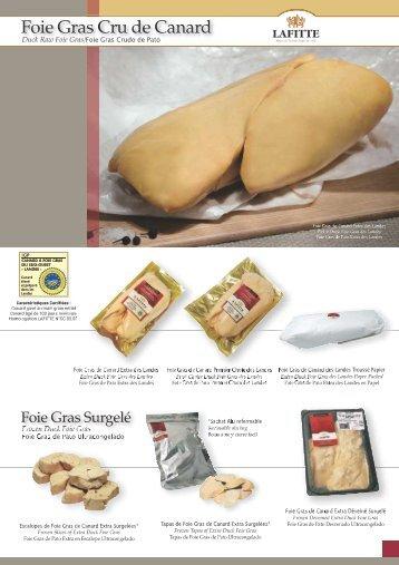 Foie Gras Cru de Canard ITE - Lafitte