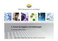 2. Forum für Hygiene und Infektiologie - Labor Dr. Reising ...