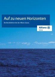 1796_07 Lehrlingsbrosch_d:AUF ZU NEUEN ... - Allianz Suisse