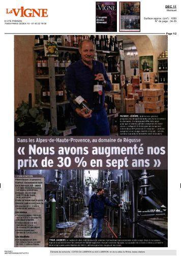 la Vigne - Les Vins Luberon
