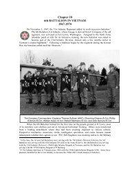 Chapter 18 - 31st US Infantry Regiment Association