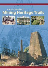 North Queensland's Mining Heritage Trails - Department of ...