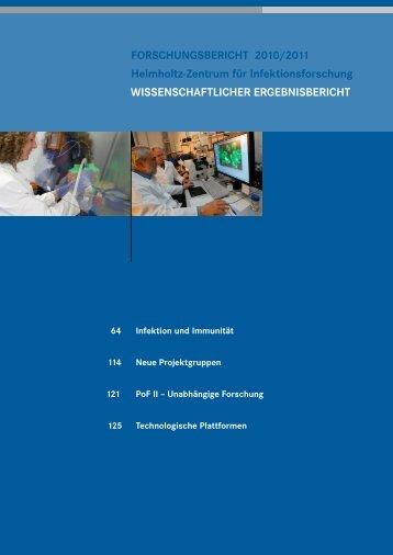 Wissenschaftlicher Ergebnisbericht - Helmholtz-Zentrum für ...