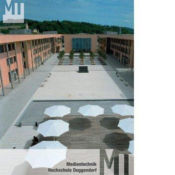 Medientechnik Hochschule Deggendorf - fabian-schreiter.de