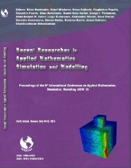 Recent Researches In Applied - Wseas.us