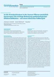 Schmidt JG, Bühlmann S., Shao Y. Ist die - Stiftung Paracelsus heute
