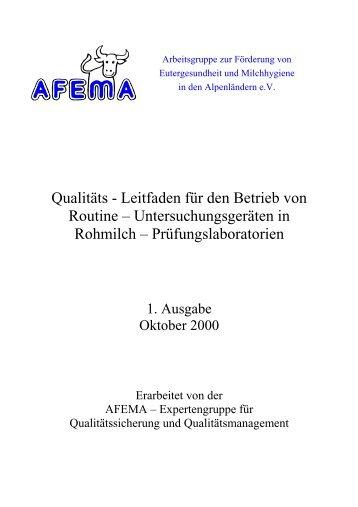 Leitfaden für den Betrieb von Routine – Untersuchungsgeräten in ...