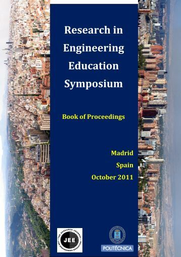 Research in Engineering Education Symposium 2011 - rees2009