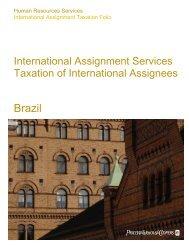 International Assignment Taxation Folio - PwC