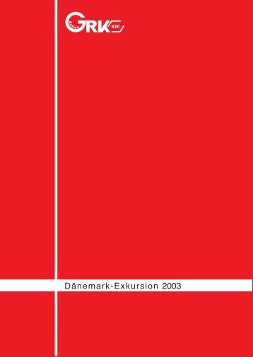 Exkursionsbericht (pdf) - GRK 820 - Christian-Albrechts-Universität ...