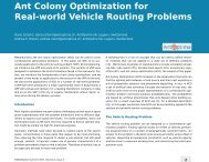 Ant Colony Optimization for Real-world Vehicle ... - Antoptima SA