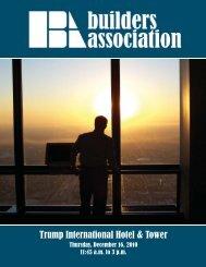 Trump International Hotel & Tower - Builders Association