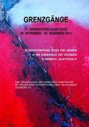 Katalog zur Ausstellung - Volksbank Oldenburg eG