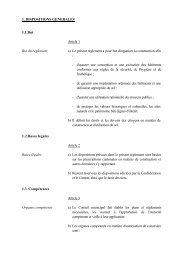 Règlement intercommunal sur les constructions - Icogne
