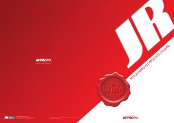 2012 JR PROPO ALL PRODUCTS CATALOG