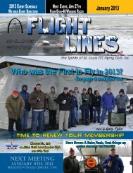January 2013 Flight Lines newsletter is now available - Spirits of St ...