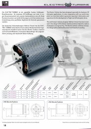 A40 ElectricTurbine A50 ElectricTurbine - Hacker Brushless Motors