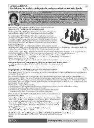 Arbeit und Beruf - Kreisvolkshochschule Norden