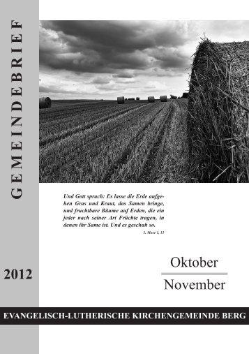 Gemeindebrief Oktober - November 2012.pdf - Evang.-Luth ...