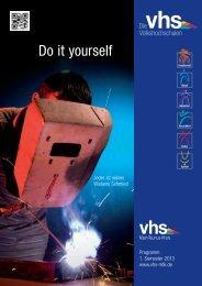 Programmheft 1-2013 - vhs MTK