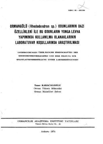 ORMANGOLO - Orman Genel Müdürlüğü