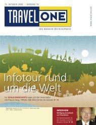 DAS MAGAZIN FÜR REISEPROFIS 15. OKTOBER ... - Travel-One